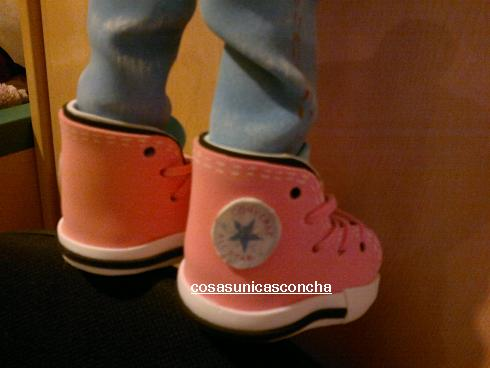Zapatillas deportivas para fofuchas (1/3)