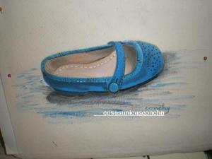 Bolsa para  zapatos de niña
