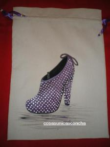 Bolsa para guardar zapatos