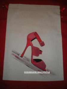 Re. 033 zapato rojo