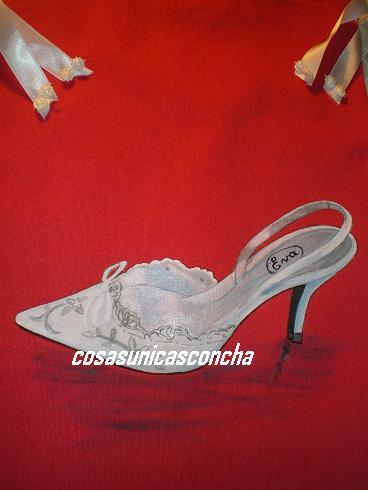 Bolsa para zapatos personalizada