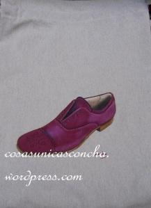 Bolsa para zapatos de caballero