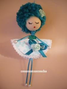 Muñequita azul