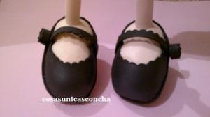 Re. 145 Zapato de tacón de la  Chulapa
