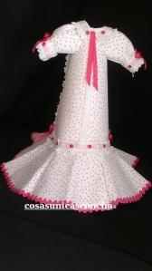 Ref. 134. Espalda del vestido de chulapa