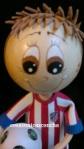 Re. 139 Detalle de la cara y el pelo del fofucho Alvaro