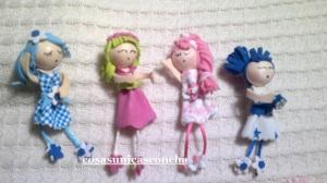 Re. 20 Brocha de muñecas de goma Eva