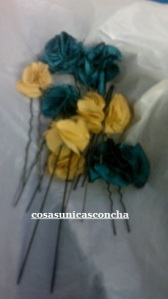 Re. 037 Flores de tela