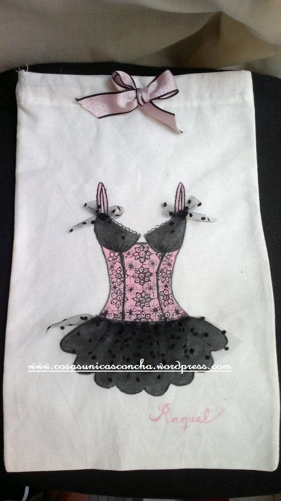 Bolsa para ropa interior pintada a mano cosas nicas concha for Bolsas para ropa