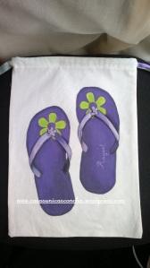Bolsa para zapatos