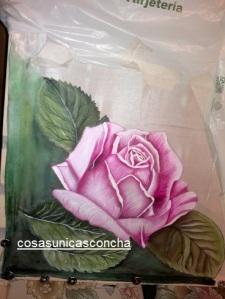Re. 004 Pañuelo pintado en seda