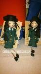 Re. 173 Broches de muñecas guardias civiles
