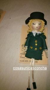 Re. 174 Broche de muñequitas Guardia Civil