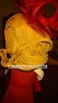 Re. 153 Peinado y tocado para fofcucha de fiesta