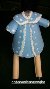 Re. 174 Vestido para bebe fofucho