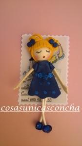 Broche de muñeca de goma Eva