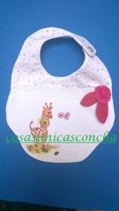 Re. 035 Babero personalizado y reversible