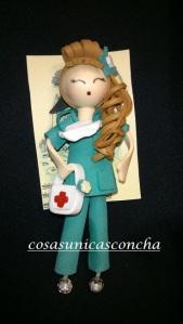 Broche de enfermera de quirófano