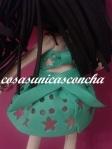Detalle de la espal del vestido