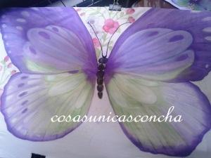 Mariposa casi completa