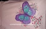 Mariposa del almohadón