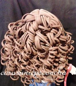 Re. 190 Detalle del pelo