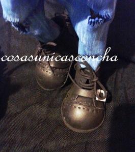R. 191 detalle de las botas de la fofucha
