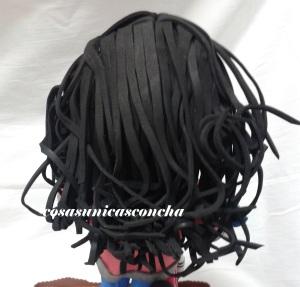 R. 194 Peinado con rizo grande para fofucha