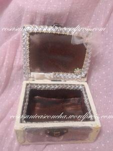 Caja cofre, vintange,