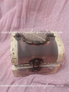 Caja cofre vintange