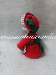 R. 003 Mini fofucha Mama Noel