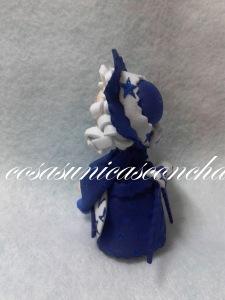 R. 002 Mini fofucha Mama Noel