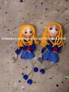 Broches para gemelas