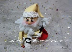 R. 005 Mini Papa Noel en color Beig