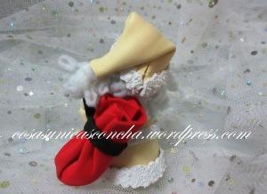 R. 005 Mini Papa Noel en beig