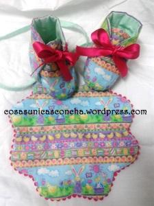 R. 061  R. 062 Babero y botas de Marta