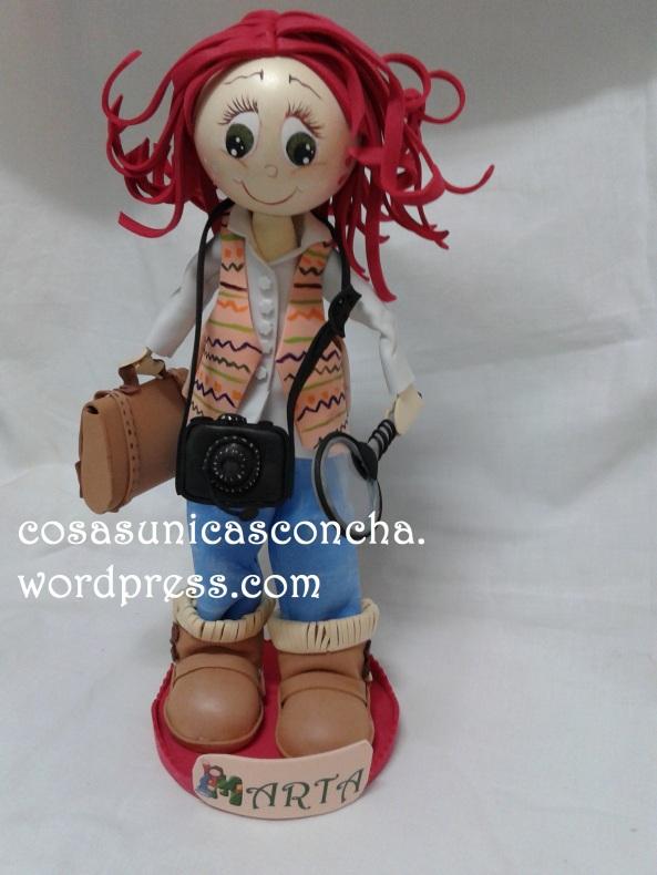 R. 225 Fofucha detective personalizada