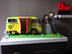 Esta es la furgoneta en su casa, o sea en la casa de Aranxa e Ismael