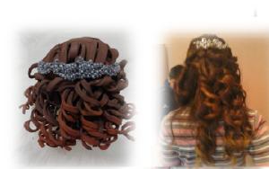 Peinado de Aranxta y de la fofucha