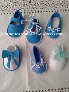 R. 013 Zapatos con imán , para regalo de bautizo