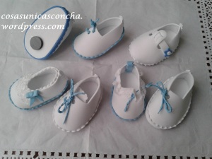 R. 015 Zapatos con imán, regalo de bautizo