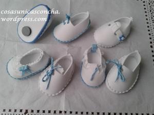 zapatos con iman