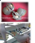Zapatos originales y de la fofucha
