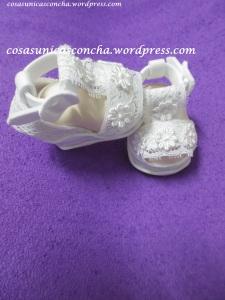 R. 247 Sandalias de fofucha, novia Ibicenca