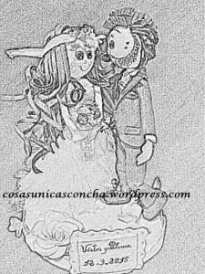 R.250 Dibujo de fofuchos