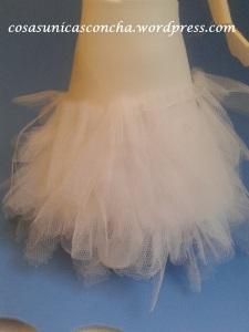 R. 250 Falda de fofucha por delante