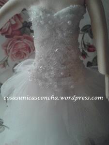 R. 251 Parte de arriba del vestido de novia