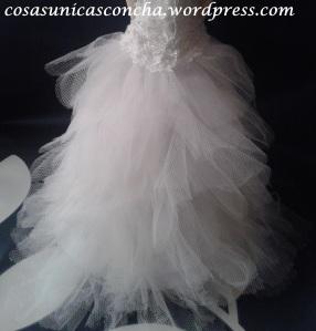 Re.250 cola del vestido de la fofucha
