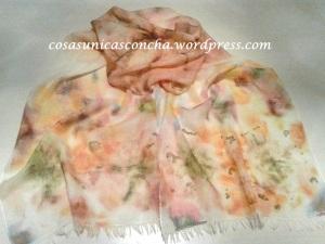fular de lana y seda