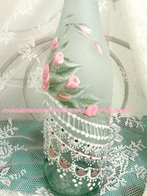 botella pintada ,multicarga y helada